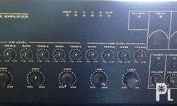 The TI-S series 5 zone mixer amplifiers are 3U mixer