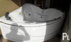 Jacuzzi Bath , only used 3 times , reason for sale ,