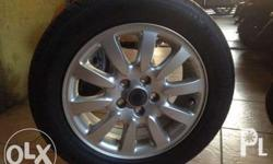 Original Jaguar Mags 16 inch with tires as good as new