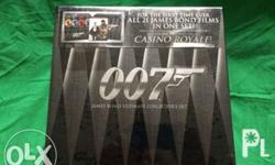 This Ultimate Collectors DVD Set includes 21 James Bond