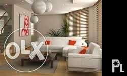 General cleaning Wall Floor Cieling Vinitian blinds