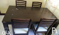 Japan Made - Dining Table Good as new 4 seaters Please