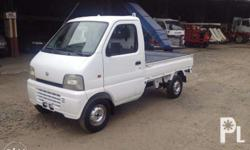 Suzuki Multicab K-Truck Carry Engine - F6A Chassis -