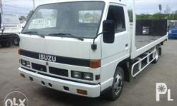 Isuzu Elf Self Loader Truck Length - 16ft Double