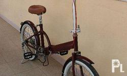 Selling my Japanese Folding Bike for only 2000! Fixed
