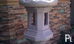 Made to order Japanese Stone Lantern and other garden