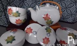 Authentic from Japan, one set teapot---1 teapot, 4 cups