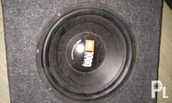 "for sale JBL 12"" speaker with box 1000watts & pulsar 4"