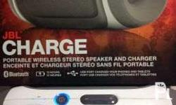 Reading is essential JBL Charge Portable wireless