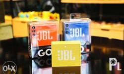 JBL GO Bluetooth Speakers - available in blue, yellow &