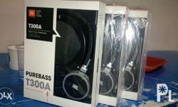 JBL Headphone Model: T300A Original Brand New Sealed 2