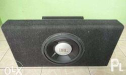 JBL 12 inches sub-woofer V12 NV-805 Amplifier Carpeted