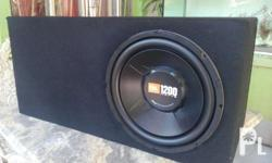 JBL subwoofer with V12 amplifier MDF BOX ready to use.