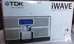 TDK iWAVE Brandnew Authentic Docking Station for ipod,