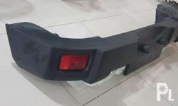 Jeep rubicon bumper with tail light