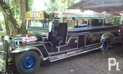 Jeepney for sale 4bc2 engine 12-13 seaters 6stad