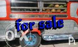 Private jeepney, using for fruits and buko