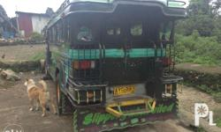 Jeepney with franchise for sale