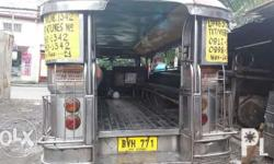 Jeepney with franchise ( marcos avenue-quirino highway
