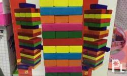 Jenga Blocks (colored) - Let you have fun and