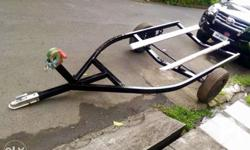 Jet ski or boat trailer 9 to 13 feet capacity 2in tow