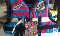 These newest Networx Jetsports vests was customized by