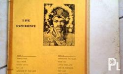 For your Consideration, I am offering Jimi Hendrix LIVE