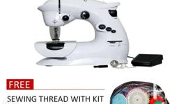 Portable Sewing easy stitching machine by JML. Used