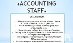 for more details, kindly refer to the vacancy that you