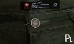 BUM jogger pants Condition: 9/10 Army green