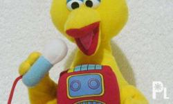 """Selling a 2nd hand """"Big Bird"""" stuffed toy for only"""