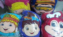 Head-shaped Jolly Squad Pillow Set (5 pcs) 1,200.00 Up
