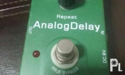 Joyo analog delay No box no manual unit only cosmetics