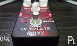 JF-02 Ultimate Drive Guitar Pedal. Hybrid OCD