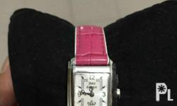 Authentic juicy couture watch. Good as new. Price