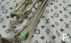 jupiter silver trumpet very very nice playing condtion