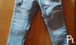 Baby jeans Preloved (used once only). The item is in