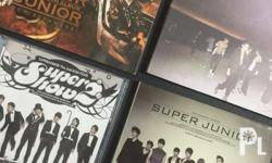 Super Junior albums ALL for only Php 500! These are