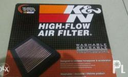 For sale: Brand new K&N Air filter for isuzu mux