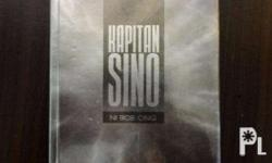 �Kapitan Sino by Bob Ong - with plastic cover - no