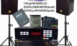 High Powered Karaoke System : Ideal for Home / KTV