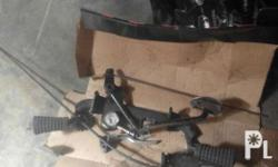 Kawasaki barako parts Stock pedal Stock brake pedal