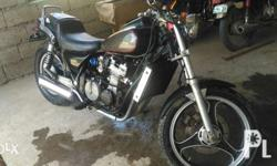 Foreigner owned Kawasaki ZL400 Shaft Drive Cruiser.