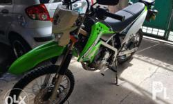 Klx 150 fresh 6k++ milage only Reg. Till 2018 Stock all