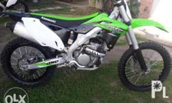 2015 kx250f fresh bike 40 hrs only. Willing to trade