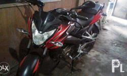 1 month used kawasaki rouser ns 150 complete papers