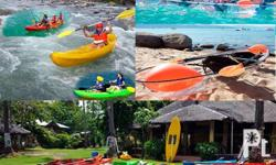 Kayak FOR BUSINESS & FAMILY USE FREE Life vest &