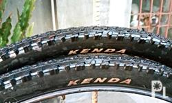 Kenda wire tires for 26er mountain bike. 350/pair.