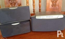For sale 1pc center and 2pcs surround kenwood speaker