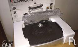 Slightly used healthy electric grill still with